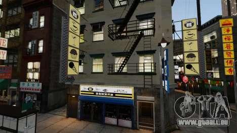 Magasins de Chinatown pour GTA 4 cinquième écran
