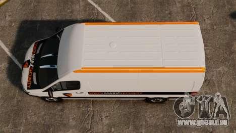 Mercedes-Benz Sprinter Sokol Maric Security für GTA 4 rechte Ansicht