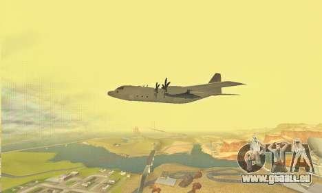 Hercules GTA V pour GTA San Andreas vue de côté