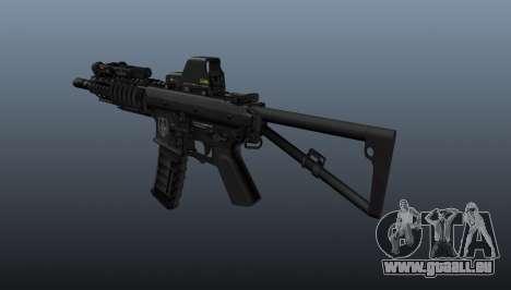 Carabine automatique KAC PDW pour GTA 4 secondes d'écran