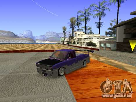 Vaz 2102 DRFT amusant pour GTA San Andreas laissé vue