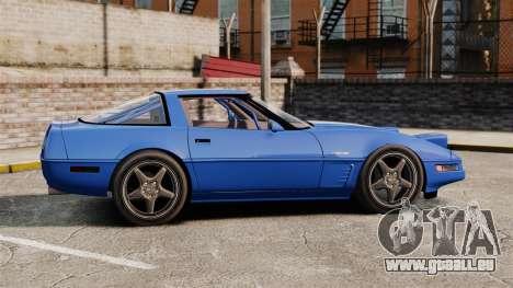 Chevrolet Corvette C4 1996 v2 pour GTA 4 est une gauche
