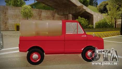 Suzulight Carry 360 pour GTA San Andreas vue de côté
