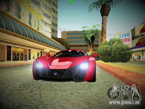 ENBSeries By DjBeast V2 pour GTA San Andreas quatrième écran