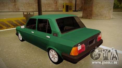 Fiat 128 Super Europa für GTA San Andreas Rückansicht