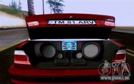 BMW M3 Cabrio pour GTA San Andreas moteur