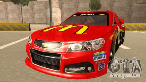 Chevrolet SS NASCAR No. 1 McDonalds pour GTA San Andreas