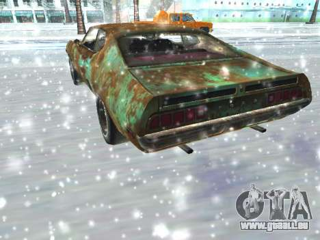 Ford Torino Rusty für GTA San Andreas rechten Ansicht