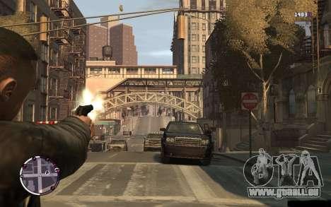 Pistolet Makarov pour GTA 4 troisième écran