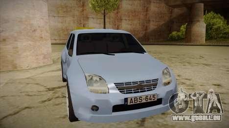 Suzuki Ignis für GTA San Andreas linke Ansicht