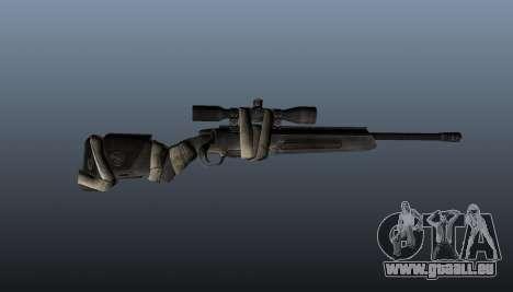 Fusil de sniper Steyr Elite pour GTA 4 troisième écran