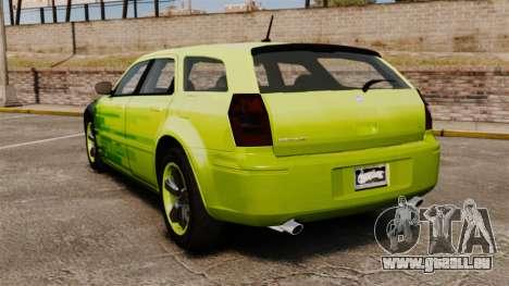 Dodge Magnum West Coast Customs pour GTA 4 Vue arrière de la gauche