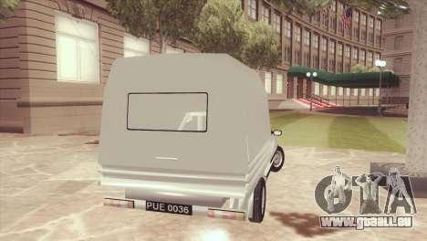 FSO Polonez Mr89 Truck pour GTA San Andreas laissé vue