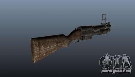 EX 41 lance-grenades pour GTA 4 secondes d'écran