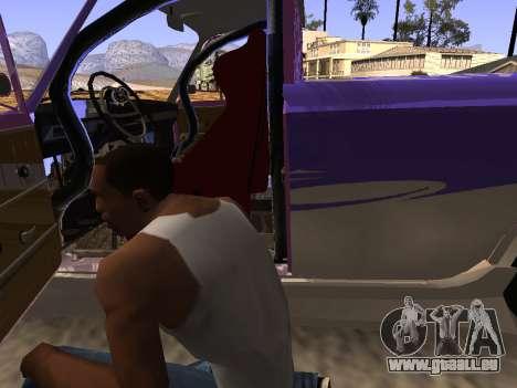 Vaz 2102 DRFT amusant pour GTA San Andreas vue de côté