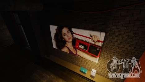 Nouvelles affiches dans l'appartement de Playboy pour GTA 4 secondes d'écran
