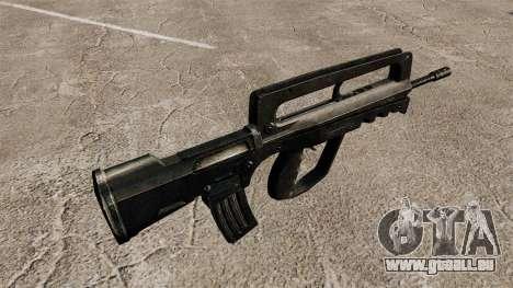 Fusil d'assaut FAMAS pour GTA 4 secondes d'écran