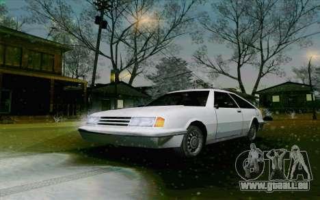Manana Hatchback pour GTA San Andreas laissé vue