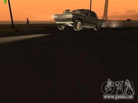 Gas-Drag-Ausgabe 24 für GTA San Andreas Rückansicht