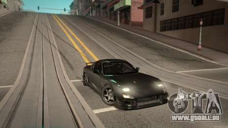 Mazda RX-7 STANCENATION für GTA San Andreas