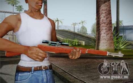 M1 Garand für GTA San Andreas zweiten Screenshot