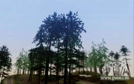 Nouvelle végétation 2013 pour GTA San Andreas deuxième écran