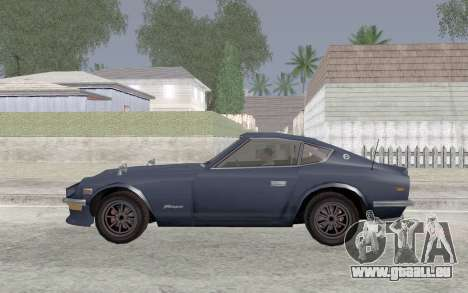 Nissan Fairlady Z AKUMA für GTA San Andreas linke Ansicht