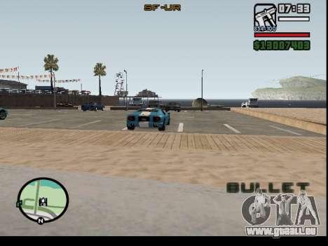 Entführung von Autos für GTA San Andreas zweiten Screenshot