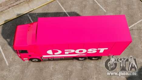 Scania R580 Tandem Australia Post für GTA 4 rechte Ansicht