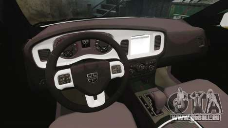 Dodge Charger 2013 AST [ELS] pour GTA 4 Vue arrière