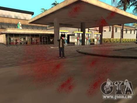 WeaponStyles pour GTA San Andreas quatrième écran
