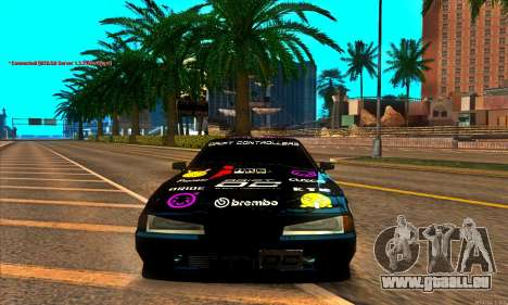 Elegy DC v1 pour GTA San Andreas vue de droite