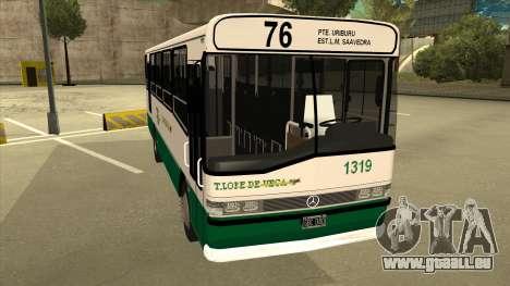 Mercedes-Benz OHL-1320 Linea 76 pour GTA San Andreas laissé vue