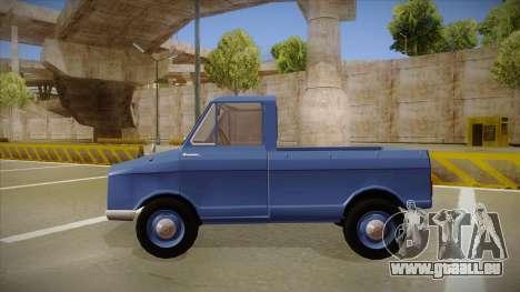 Suzulight Carry 360 pour GTA San Andreas laissé vue