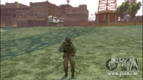 Ein russischer Soldat v3. 0 für GTA 4