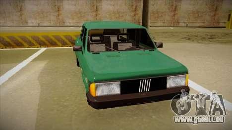 Fiat 128 Super Europa für GTA San Andreas linke Ansicht