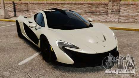 McLaren P1 [EPM] pour GTA 4