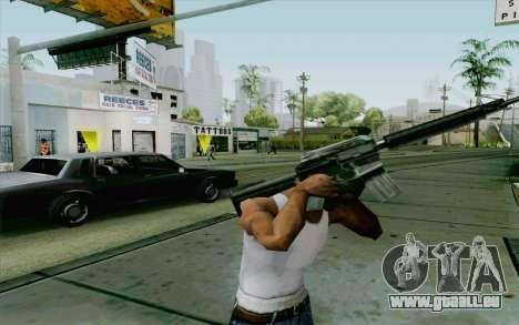 Cambriolage système v2.0 pour GTA San Andreas deuxième écran