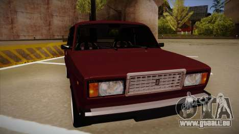 Lada 2107 für GTA San Andreas linke Ansicht