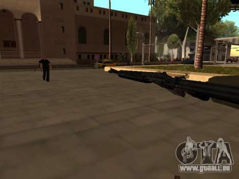WeaponStyles pour GTA San Andreas sixième écran