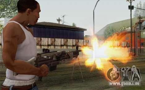 Pistolet militaire pour GTA San Andreas troisième écran