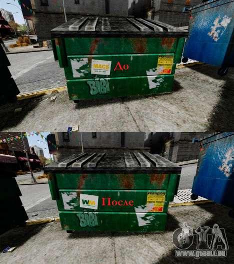 Bennes à ordures, Waste Management Inc. pour GTA 4