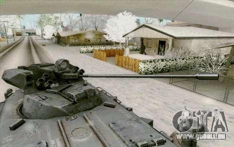 BTR-80 pour GTA San Andreas vue de dessous