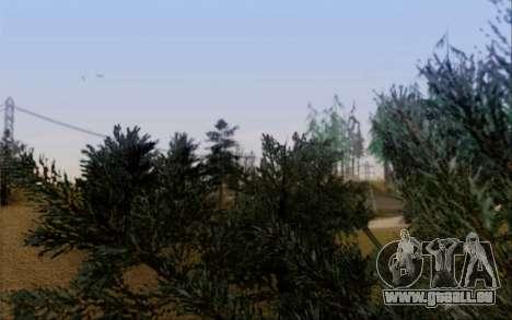 Nouvelle végétation 2013 pour GTA San Andreas huitième écran