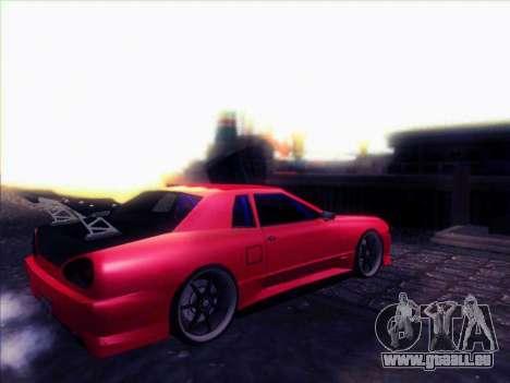 Elegy Drift Concept pour GTA San Andreas vue de droite