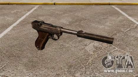 Pistolet Parabellum v2 pour GTA 4