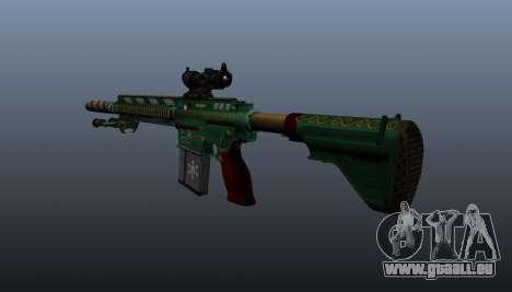 HK417 Gewehr v3 für GTA 4 Sekunden Bildschirm