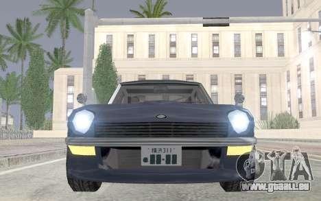 Nissan Fairlady Z AKUMA pour GTA San Andreas vue de droite