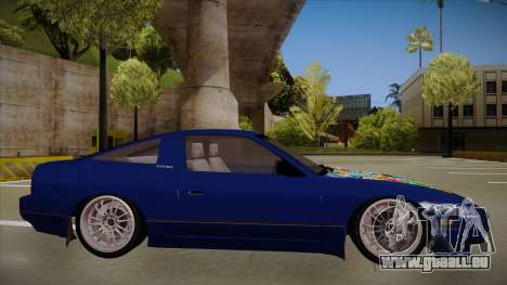 Nissan 240sx JDM style für GTA San Andreas zurück linke Ansicht