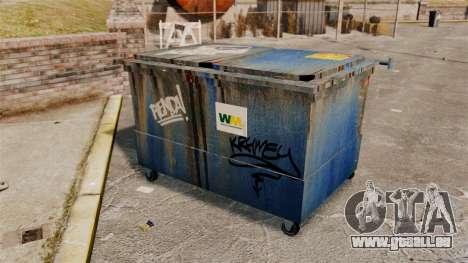 Bennes à ordures, Waste Management Inc. pour GTA 4 quatrième écran